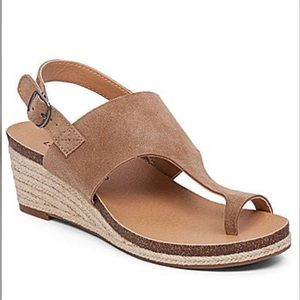 LUCKY BRAND Janessa Espadrille Wedge Sandals 8.5